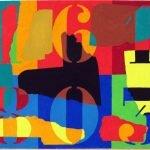 161803 gouache on card 31 x 43 cm May 2015 (c) Bnx